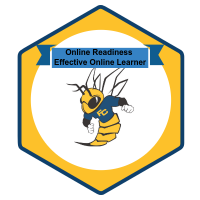 Badge for Online Readiness Effective Online Learner